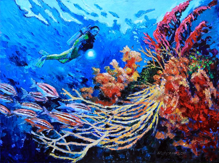 The Flow of Creation - Paintings by John Lautermilch