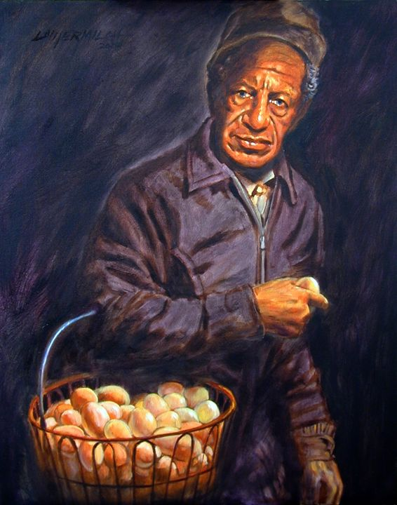Egg Man 3-2003 - Paintings by John Lautermilch