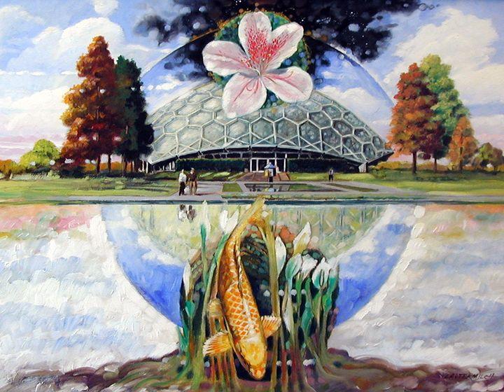 St. Louis Botanical Garden 21-2000 - Paintings by John Lautermilch