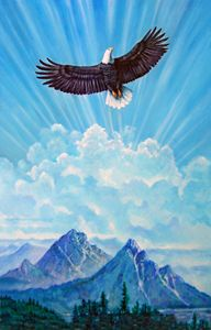 Flying High 42-2002 - Paintings by John Lautermilch