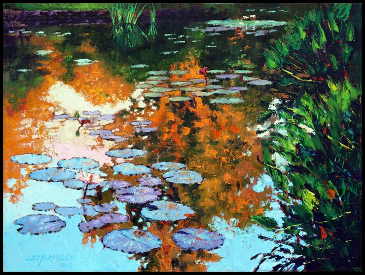 Fall Impressions - Paintings by John Lautermilch