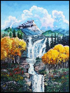 Dreaming of Colorado - Paintings by John Lautermilch