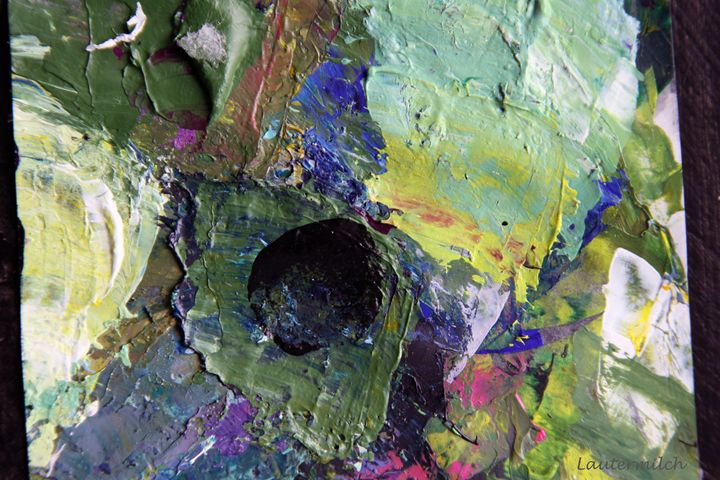 Palette Abstraction 20 - Paintings by John Lautermilch