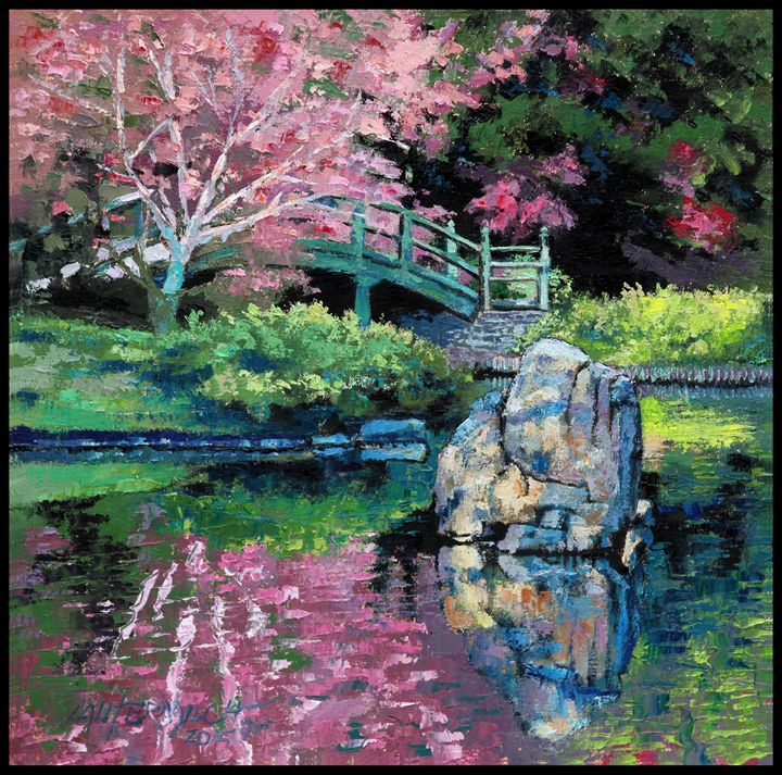 Spring Impressions - Paintings by John Lautermilch