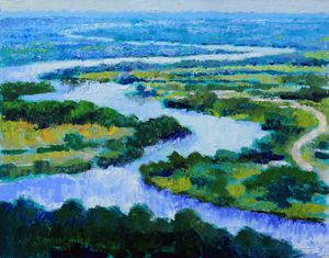 Old Man River - Paintings by John Lautermilch