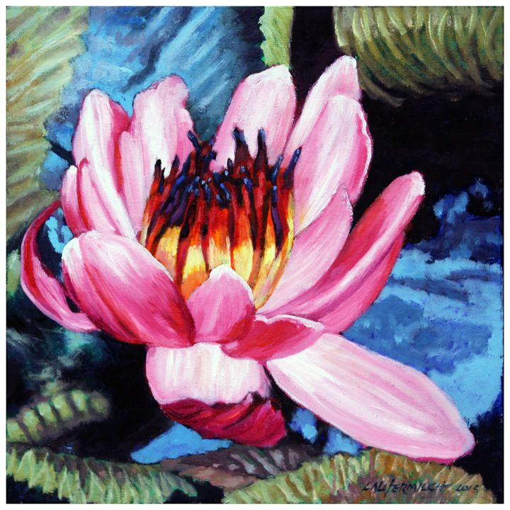 Adding Beauty to My Life - Paintings by John Lautermilch