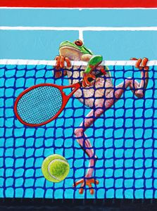 A Net Violation - Paintings by John Lautermilch