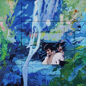 Elvis - How Great Thou Art - Paintings by John Lautermilch