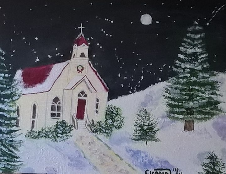 Starry night - Artbycindyj