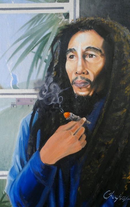Bob Marley, Rastafarianism - chuckey's art and soul
