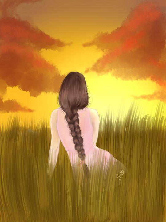 sunset - Wissal