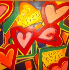 'Less Words, More Love' SOLD
