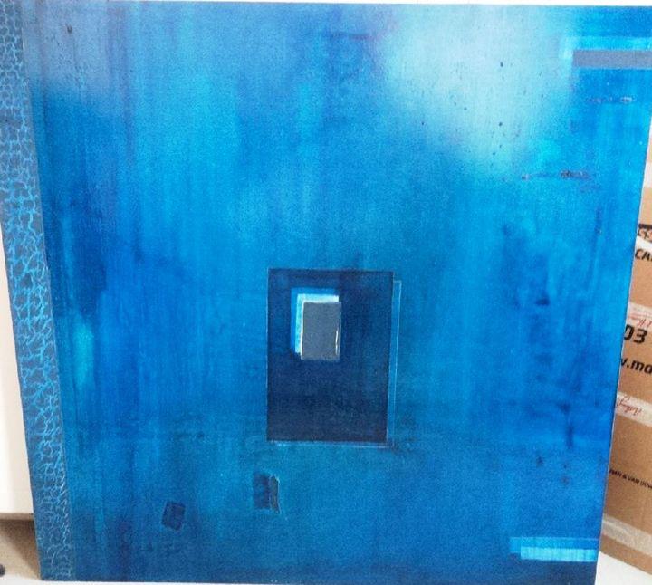 Big Blue - Contemporary Art