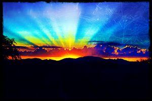 Sunset on Paradise
