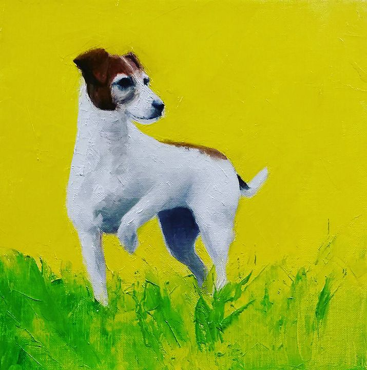 Jack russell - Nicole Anne Leroux