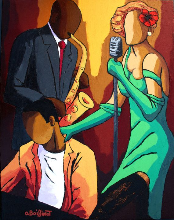 Jazz grenn Dress - O.BOISSINOT