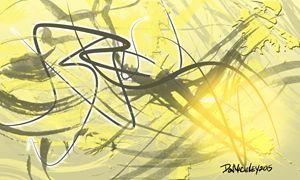 Tan Abstract