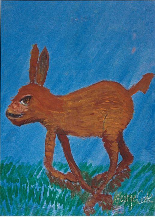 Jack Rabbit - George's Art