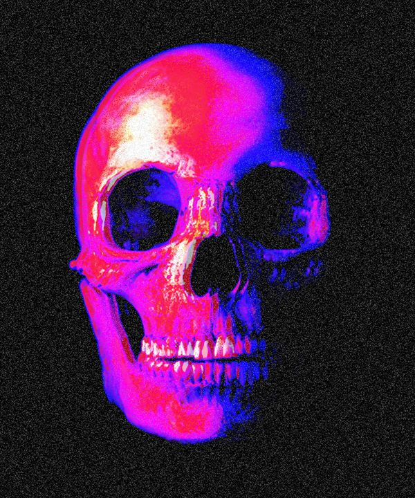 Skull Hiss - Gengar's Print Shop - Gengar's Print Shop