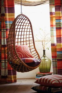 Hanging Cane Swing Chair Big Size - Fairways