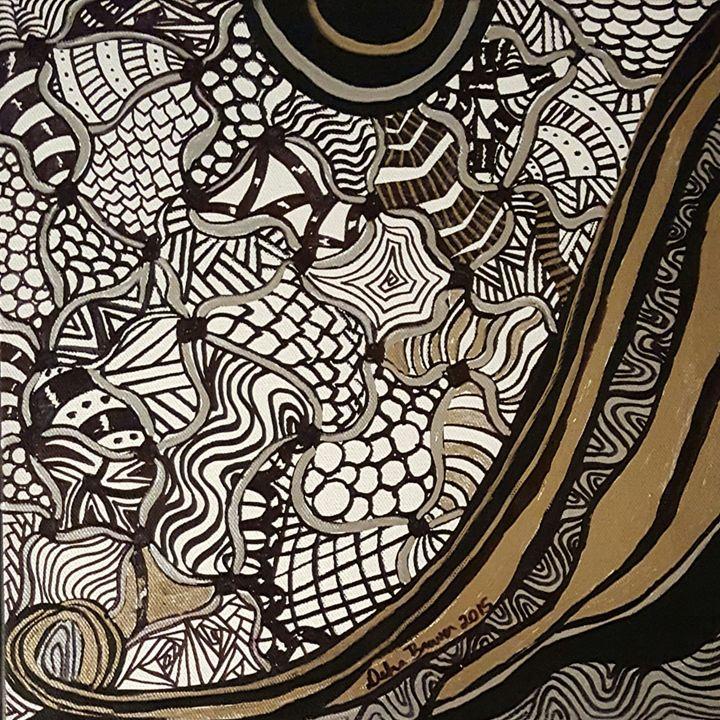 A Lady In Meditation 1 - Debra Brewer Art Gallary