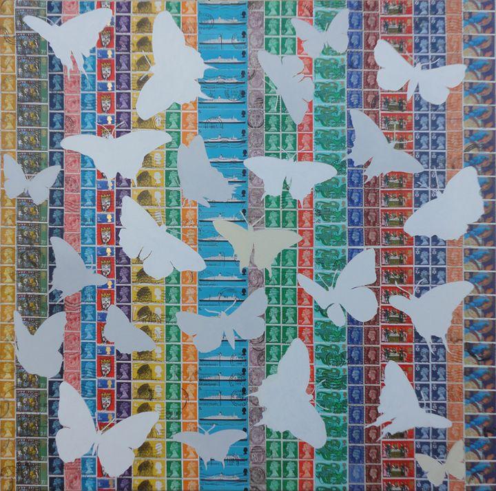 Butterflies - Cocksoup Art