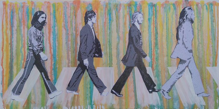 Literally Abbey Road - Cocksoup Art