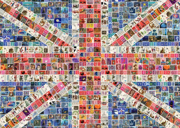 Union Jack - Digital - Cocksoup Art
