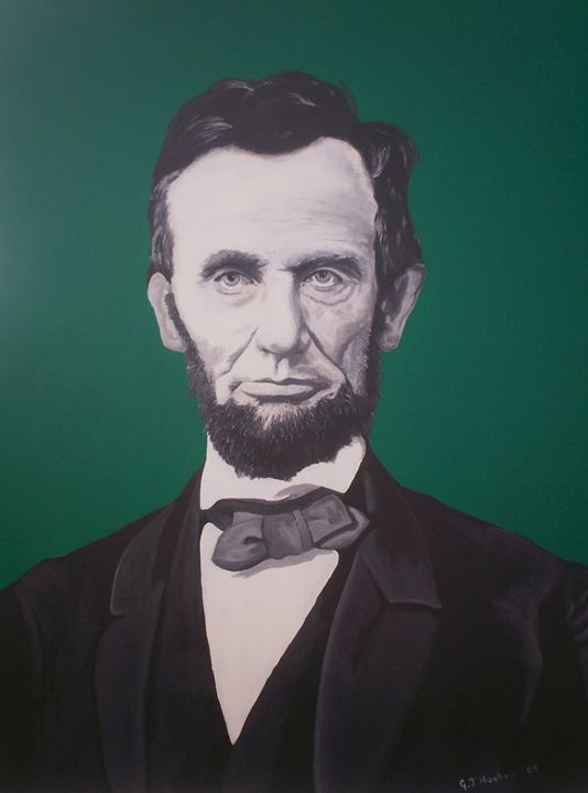 Lincoln - Cocksoup Art