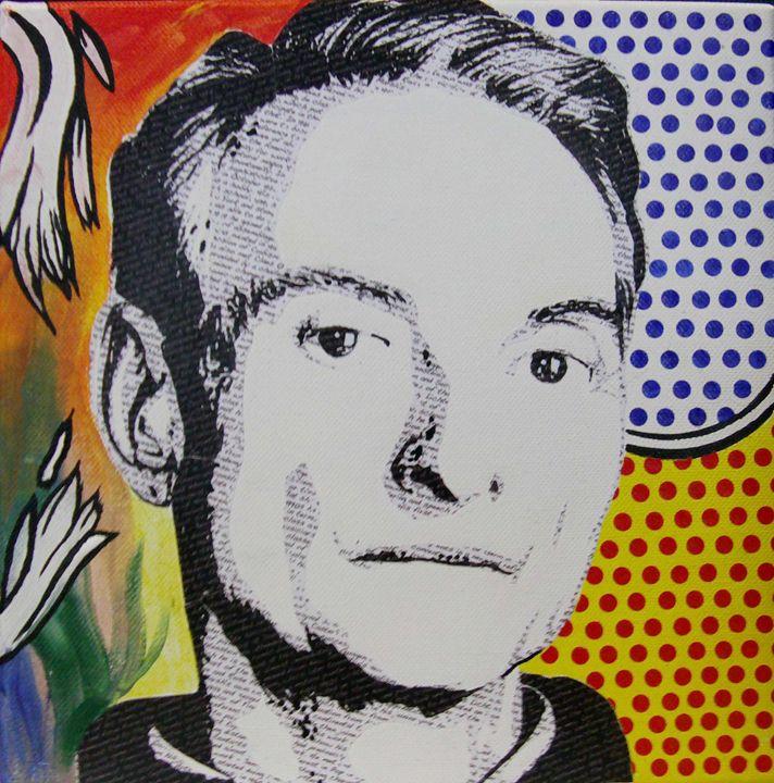 Literally Roy Lichtenstein - Cocksoup Art