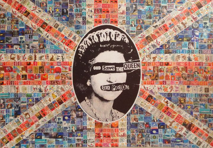 God Save the Queen - Cocksoup Art