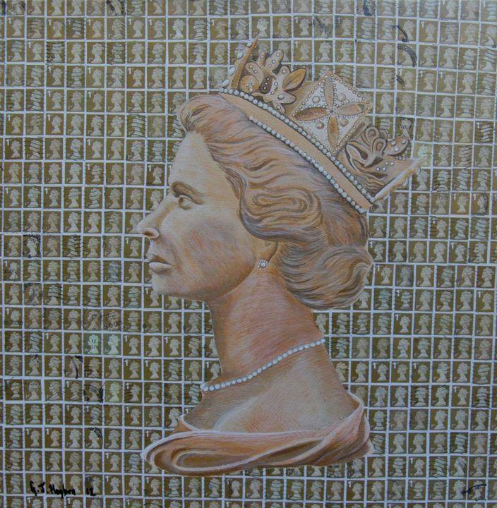 1st class queen - Cocksoup Art