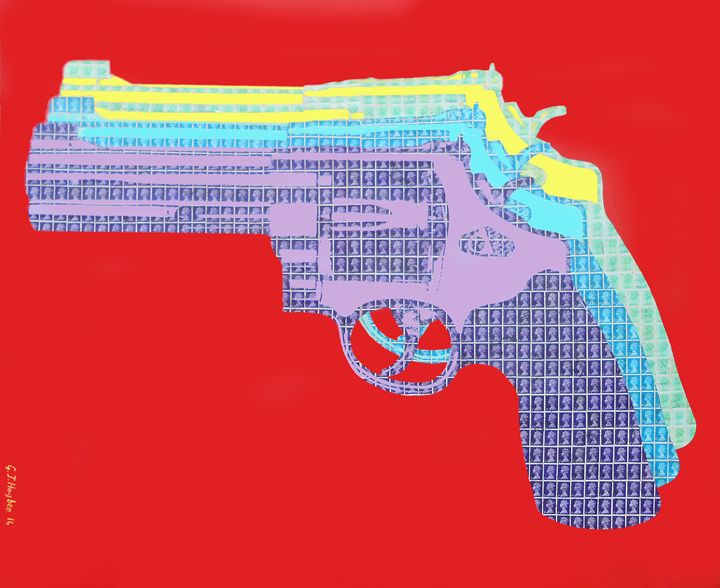 A gun for your mouth - Cocksoup Art