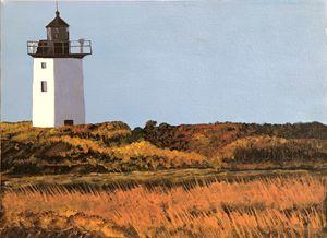 light on the lighthouse
