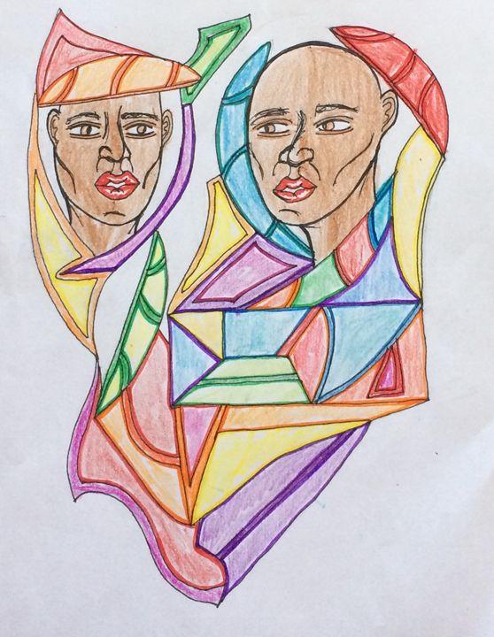A Gemini Has Two Faces - PLA