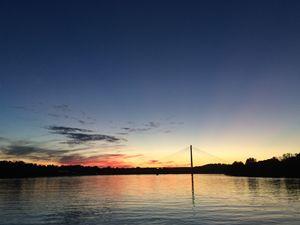 Night Sky on the Ohio River