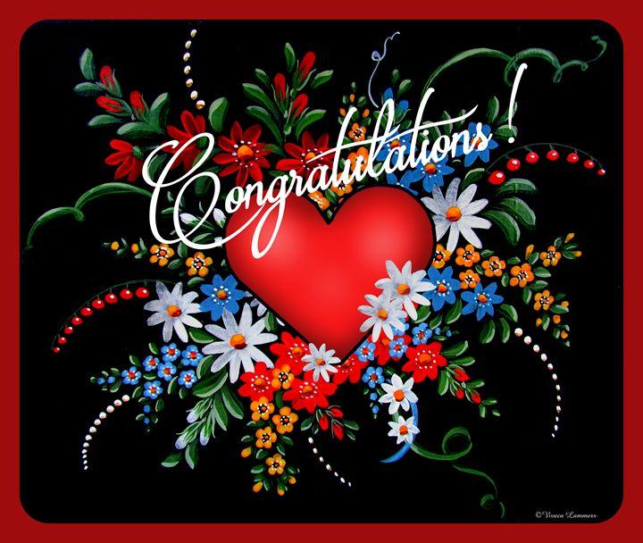 Congratulations! - Viveca Lammers