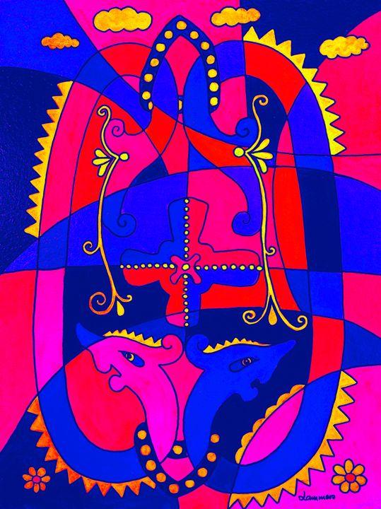 Viking Dragons Color - Viveca Lammers