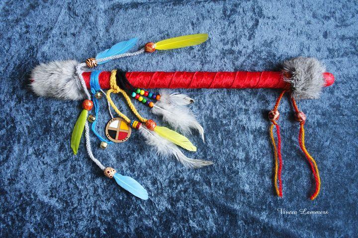 """Talking Stick """"Red Hawk"""" - Viveca Lammers"""