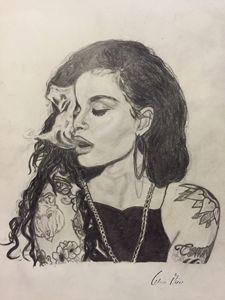 Drawing of Kehlani