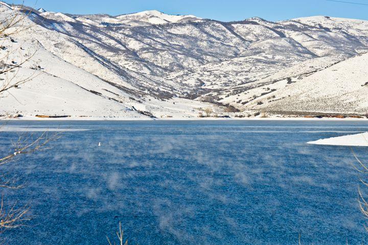 Steam on Deer Creek - A & B Martin Photography