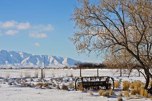 Spanish Fork Farm in Winter