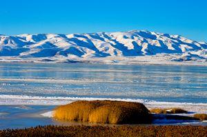 Icy Utah Lake