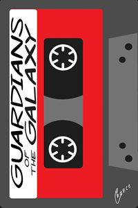 Guardians of the Galaxy Cassette