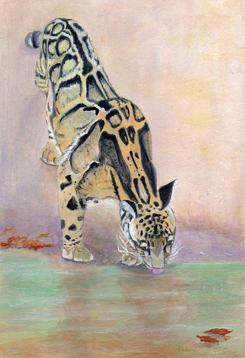 At The Waterhole - Veronica Rickard