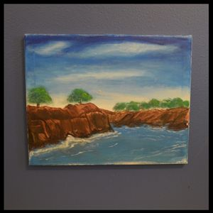The Cliffs Along The Shore