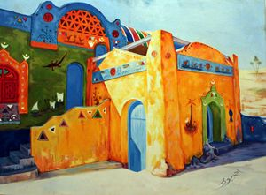 Egyptian Nubian House