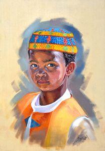 Egyptian Nubian Boy