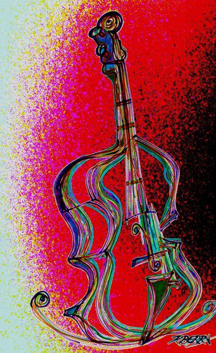 Mellow Cello - JazzXpressionstudio Art