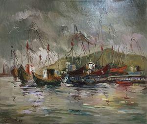 Anchored in Adriatic